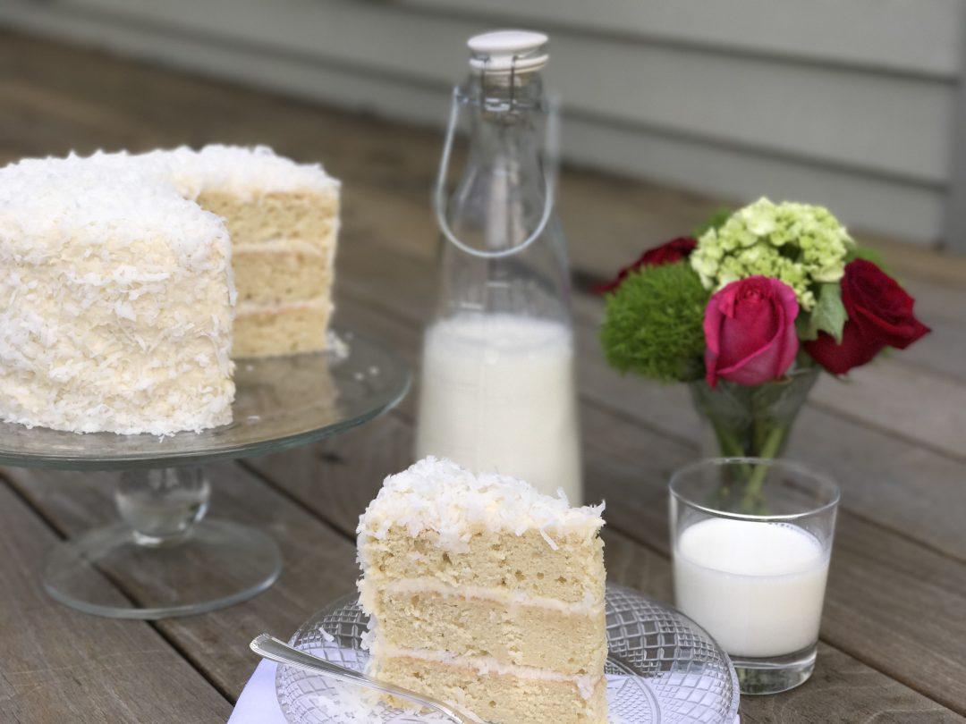 Dre's Coconut Cake