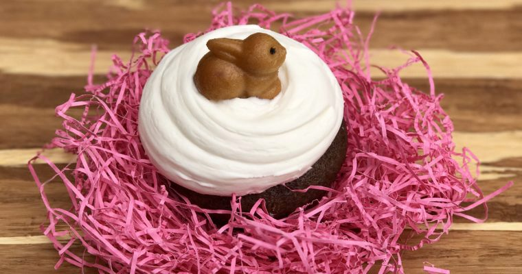 Incredibly Easy (Easter) Cupcakes, Made With Olive Oil