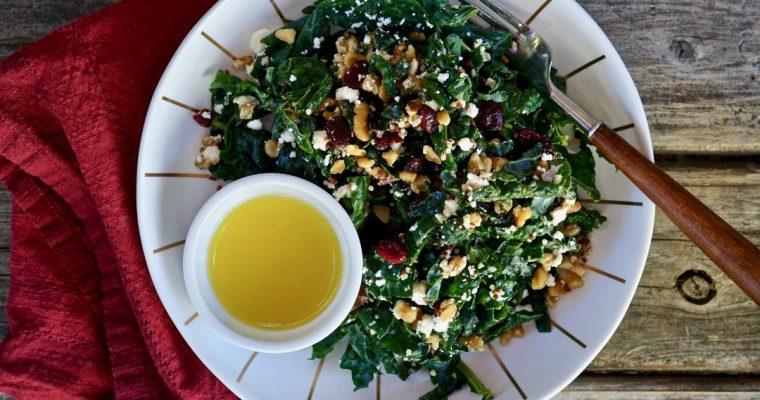 Kale+ Quinoa Salad