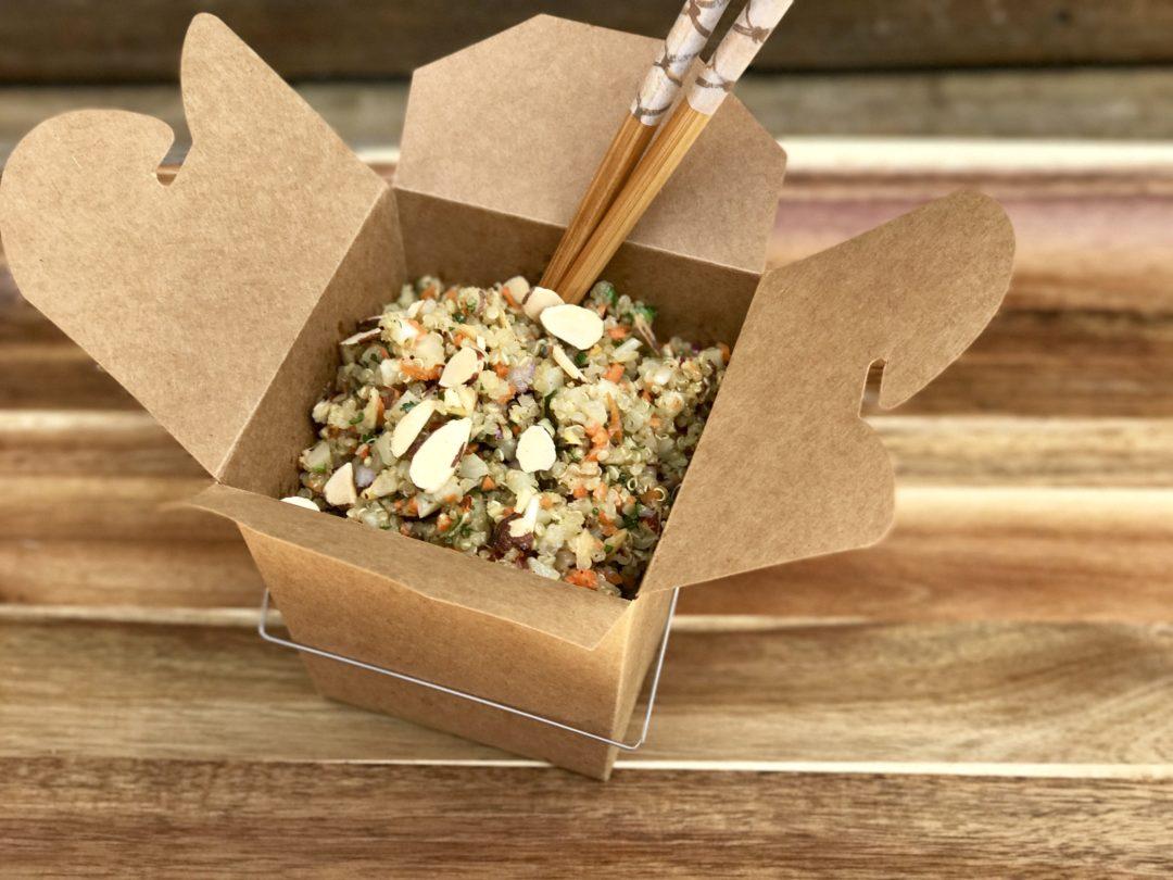 """Cauliflower Quinoa Vegetable """"Rice"""""""