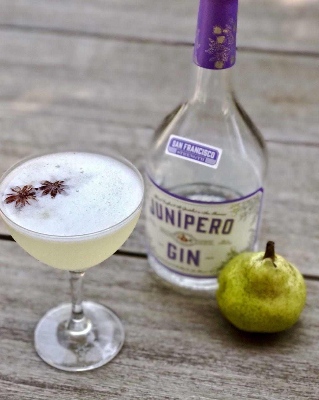 pear gin fizz