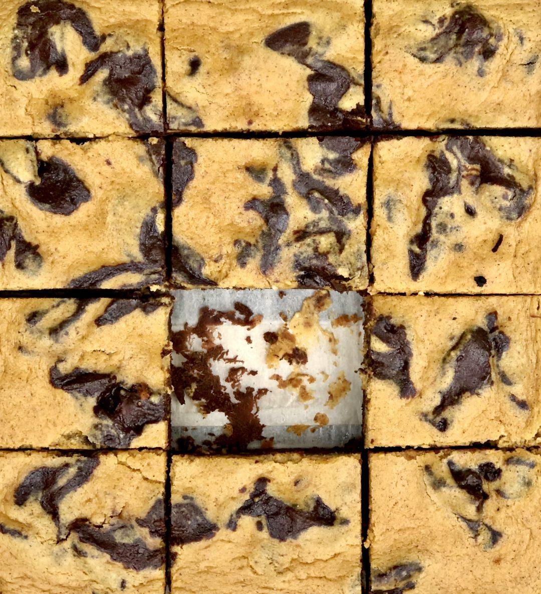 pumpkin-cheesecake brownies