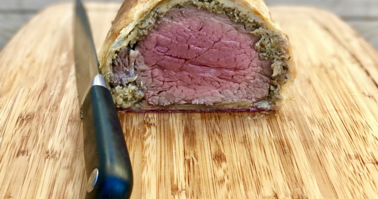Beef Wellington, Because My Kids Asked…