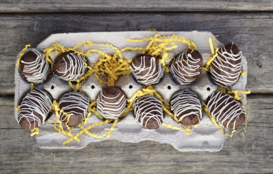Decadent Chocolate Peanut Butter Eggs For Easter