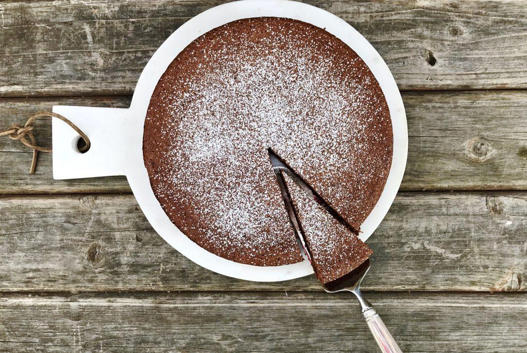 Flourless Chocolate-Almond Cake