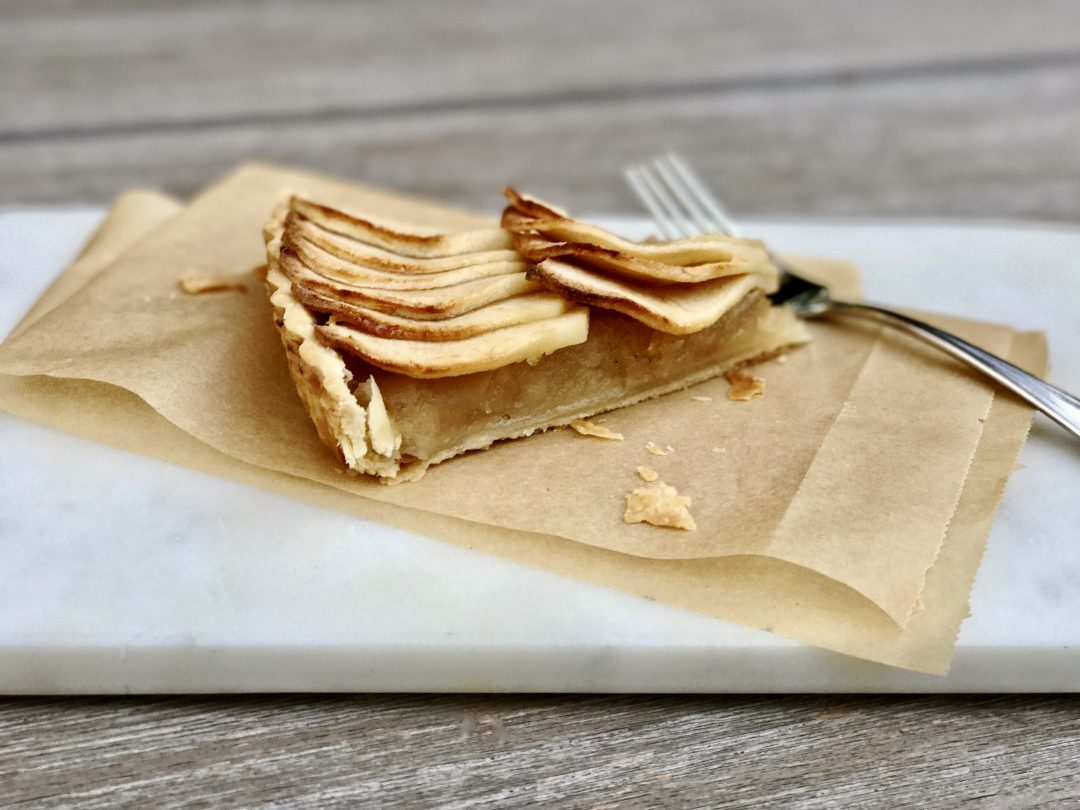 A Classic French Tarte Aux Pommes