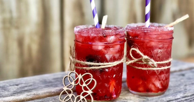 Vodka Blackberry Breeze Cocktail