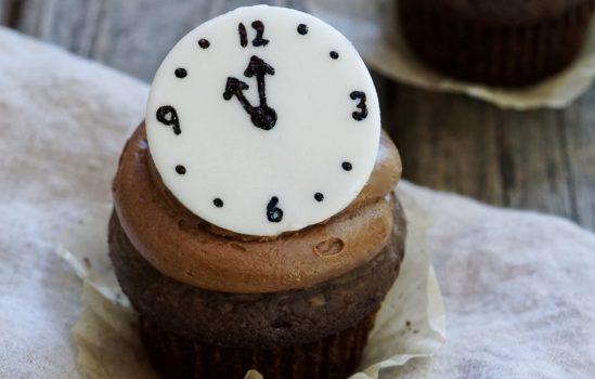 Chocolate Mocha Countdown Cupcakes