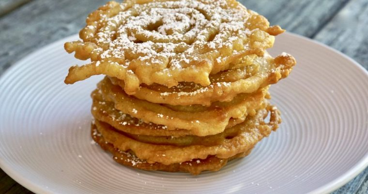 Vanilla Funnel Cakes