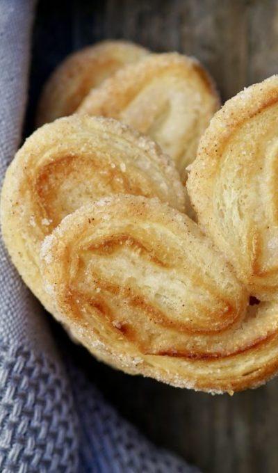 Elephant Ears (Palmier Cookies)