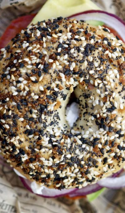 New York Style Everything Bagels