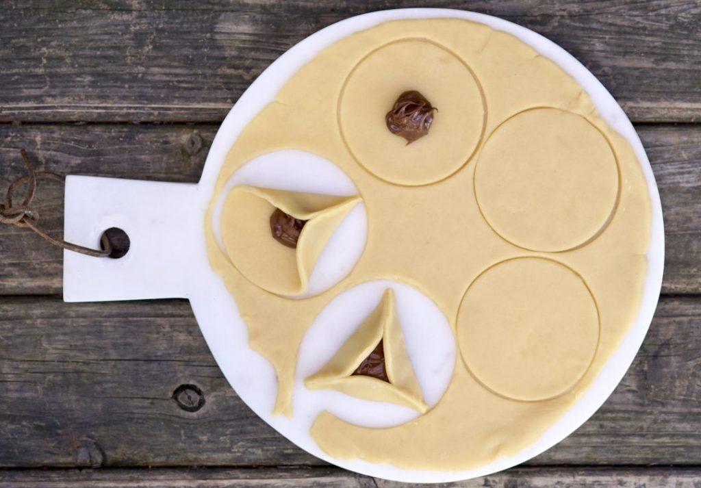 Nutella hamantaschen