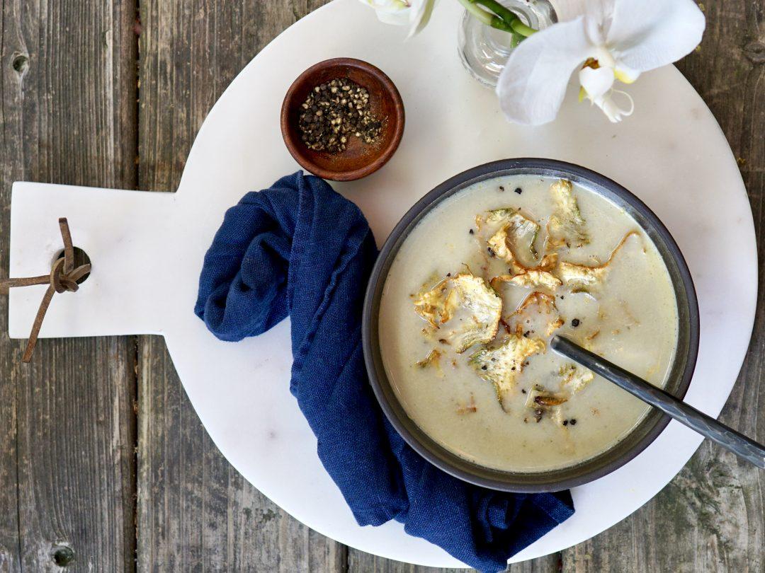 Spring Artichoke Soup