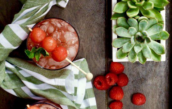 Raspberry-Watermelon Sangria
