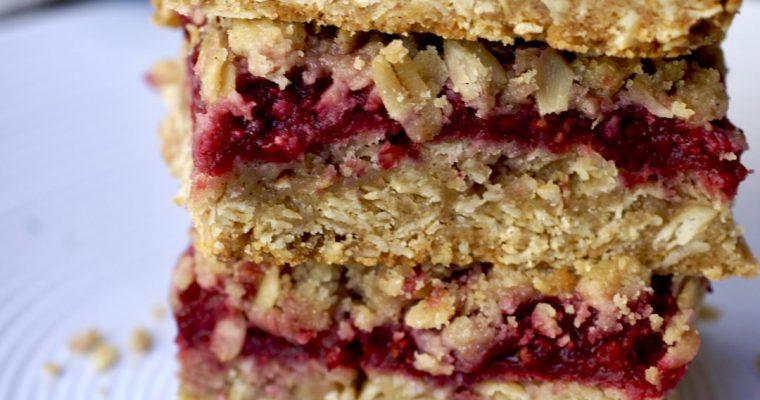 Raspberry Fruit Bars