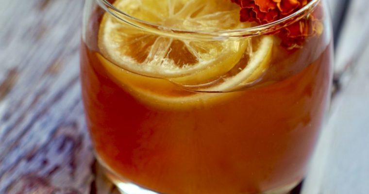 Hibiscus Rum Punch