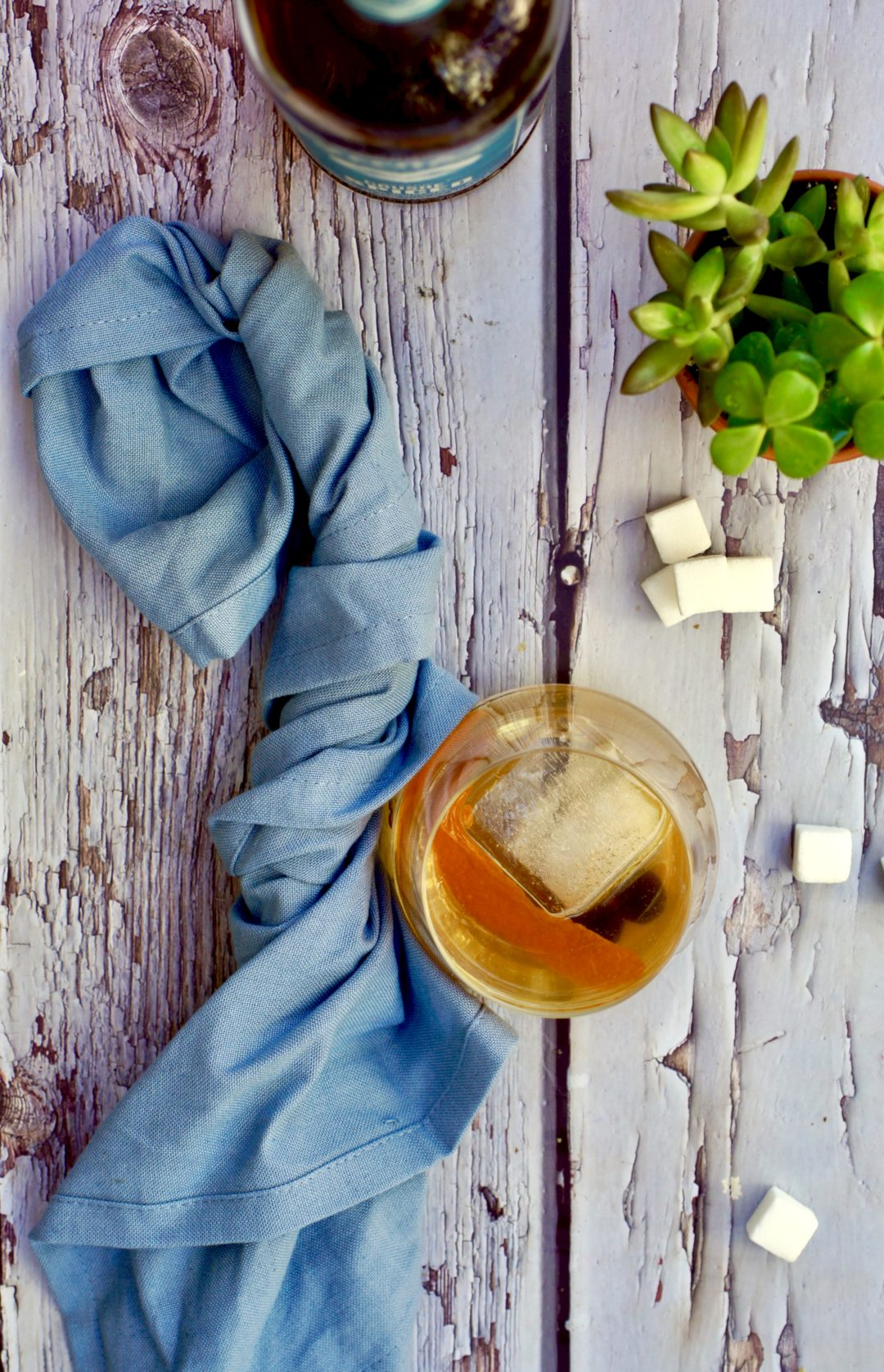 spiced rum old fashioned