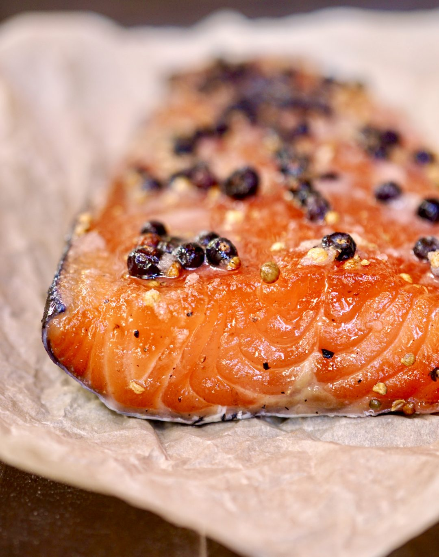 "Scandinavian-Style Cured Salmon ""Gravlax"""