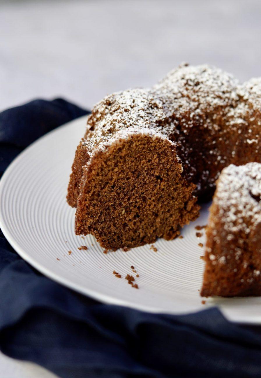 chocolate-cinnamon honey cake