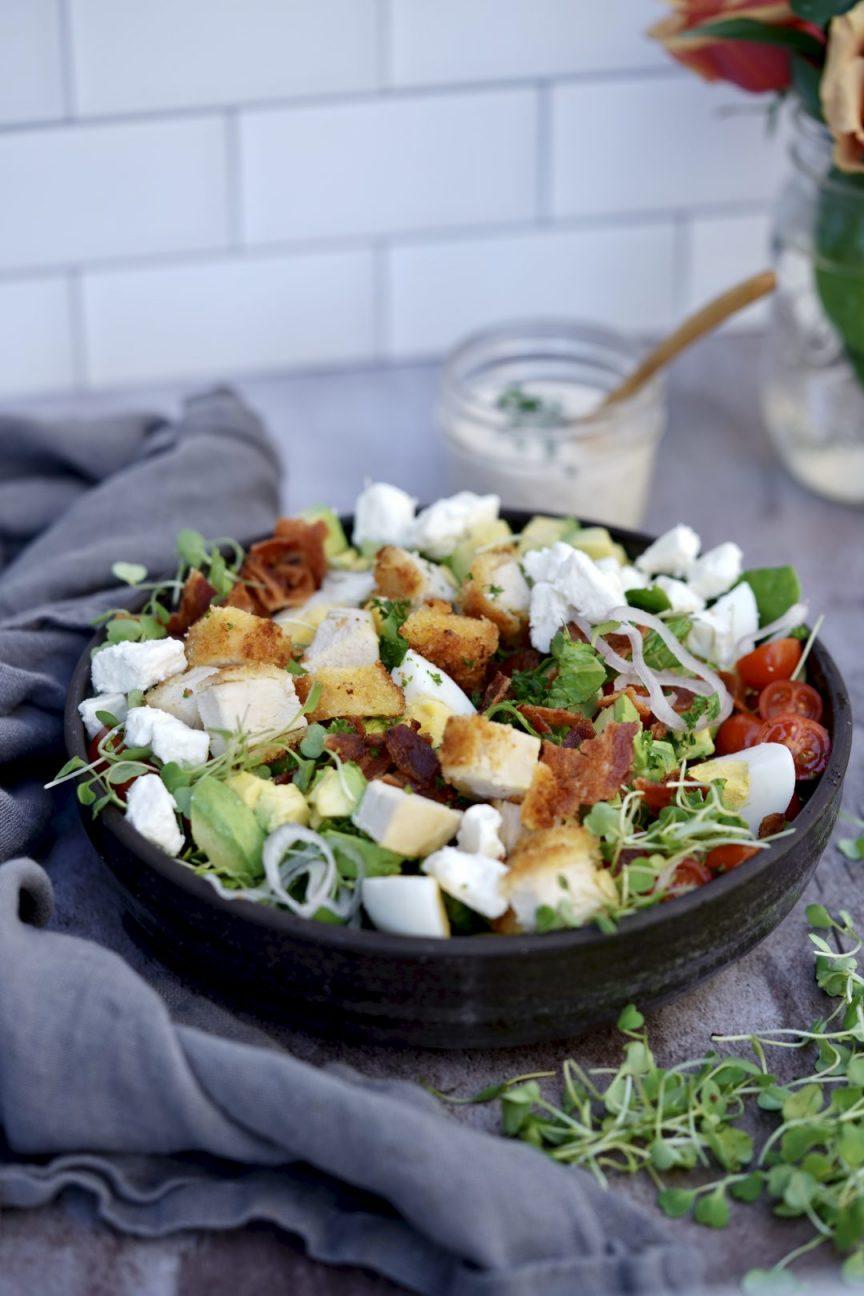 crispy chicken Cobb salad