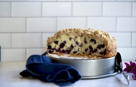 Ina's Blueberry Coffee Cake